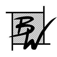 BW Portrait Square Logo